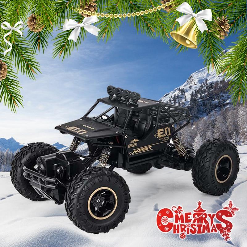 4WD électrique RC voiture Rock chenille télécommande jouets voitures la Radio contrôlée 4x4 lecteur RC voiture jouets pour garçons enfants Suprise cadeau