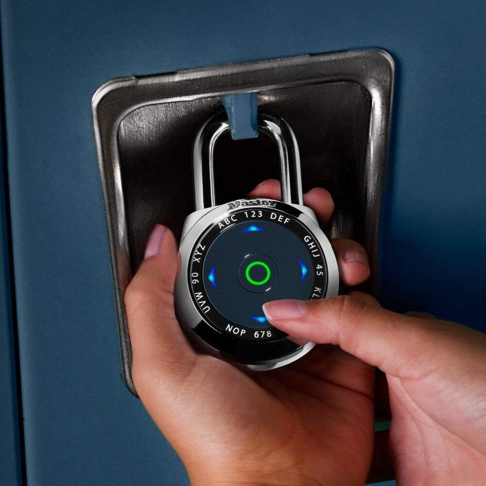 MASTER LOCK US native electronic LED direction password lock gym safe padlock dialSpeed Set Your Own Combination Digital Lock (1)