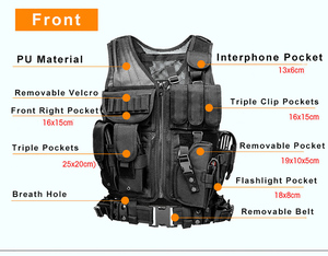 Image 2 - High Quality Tactical vest security outdoor training combat CS field protection vest For Paintball Game SWAT Team