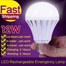High Power 220V E27 LED Bulb Rechargeable Emergency Lamp Lighting LED Intelligent Magical Bulb B22 E27 Energy Saving Smart Light