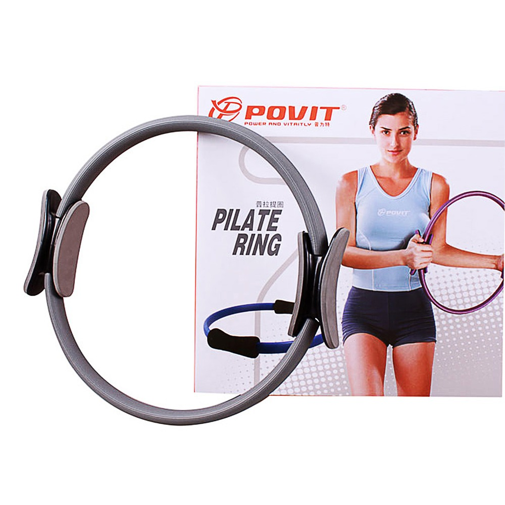 Crossfit pilates circle color box crescendos packaging handle magic circle yoga ring weight loss equipment breast enlargement