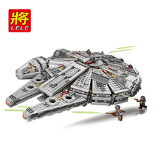 HOT! 2016 New Star Wars Millennium Falcon Spaceship building blocks set Compatible with axi Action Figures Starwars Toys