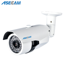 Asecam Sony CCD 960H Effio 1200TVL CCTV metal Bullet Analog Surveillance Outdoor Waterproof 36led infrared Security Camera цена 2017