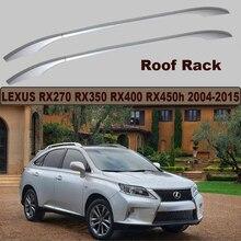 Auto Techo Bastidores Portaequipajes Para LEXUS RX270 RX350 RX400 RX450h 2008-2015 Nuevo De Alta Calidad De Aleación De Aluminio Accesorio coche