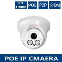 YUNSYE 2MP POE IP Camera 1080P H 264 3MP Lens Securiy Dome HD Network CCTV Hi3516C