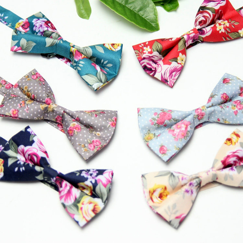 Mens Floral Bowties Wedding Banquet 2017 New Fashion Designer Women High Quality Mens Flower Butterfly Bow Tie for Groomsman