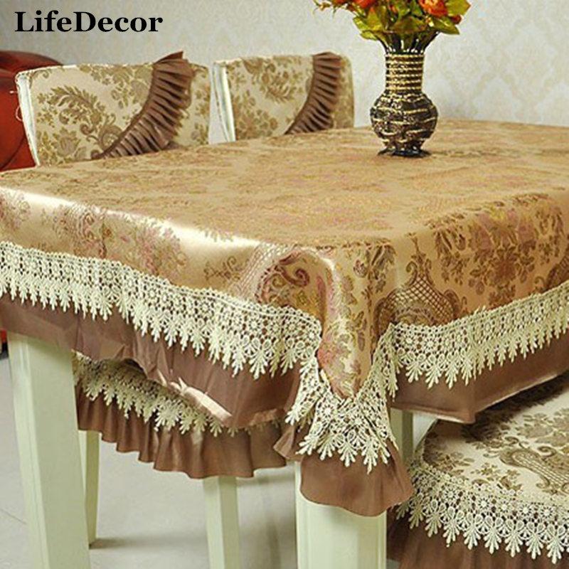 Fashion Cloth Dining Table Cloth Chair Pad Cushion Tables