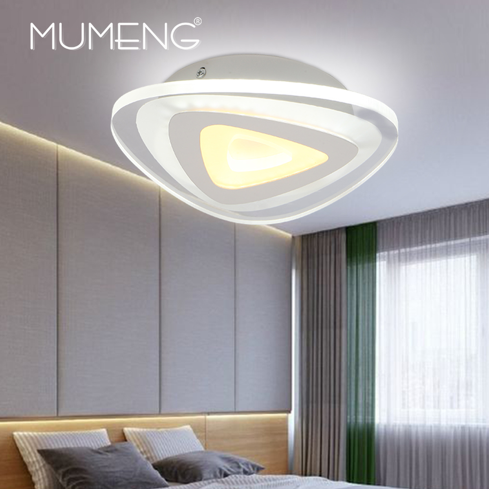 Mumeng Modern Acrylic Led Ceiling Light 12w 220v Ultrathin