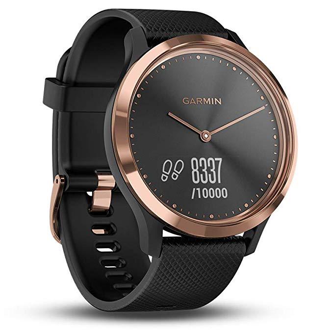 Garmin Vivomove HR Classic Watch Heart Rate Monitor Watch Fitness  Waterproof Swimming Sports Watches Dz09 Gold