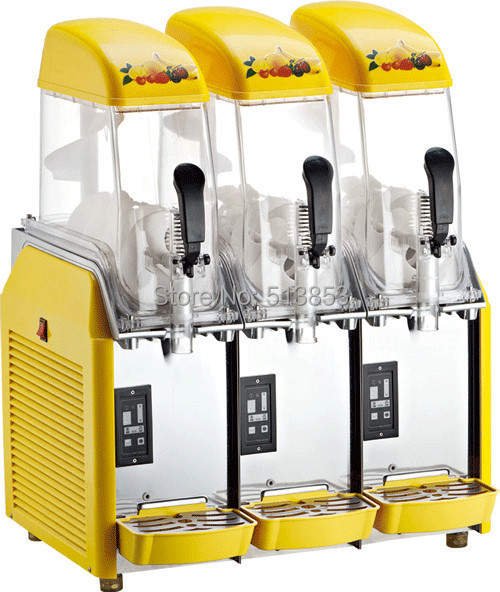 Free Shipping CE approved Black body Slush Machine Granita Machine slush granita machine