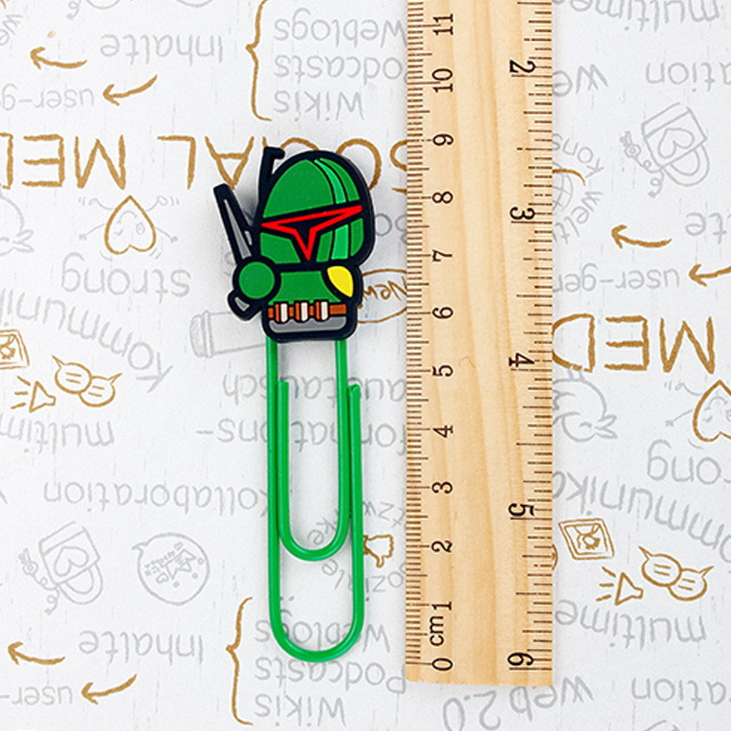 Creative Cartoon Star Wars Clips Kawaii Bb8 Cute Spiderman Novelty Fashion Home Office Decorative Food Bag Paper Storage Clips Home & Garden