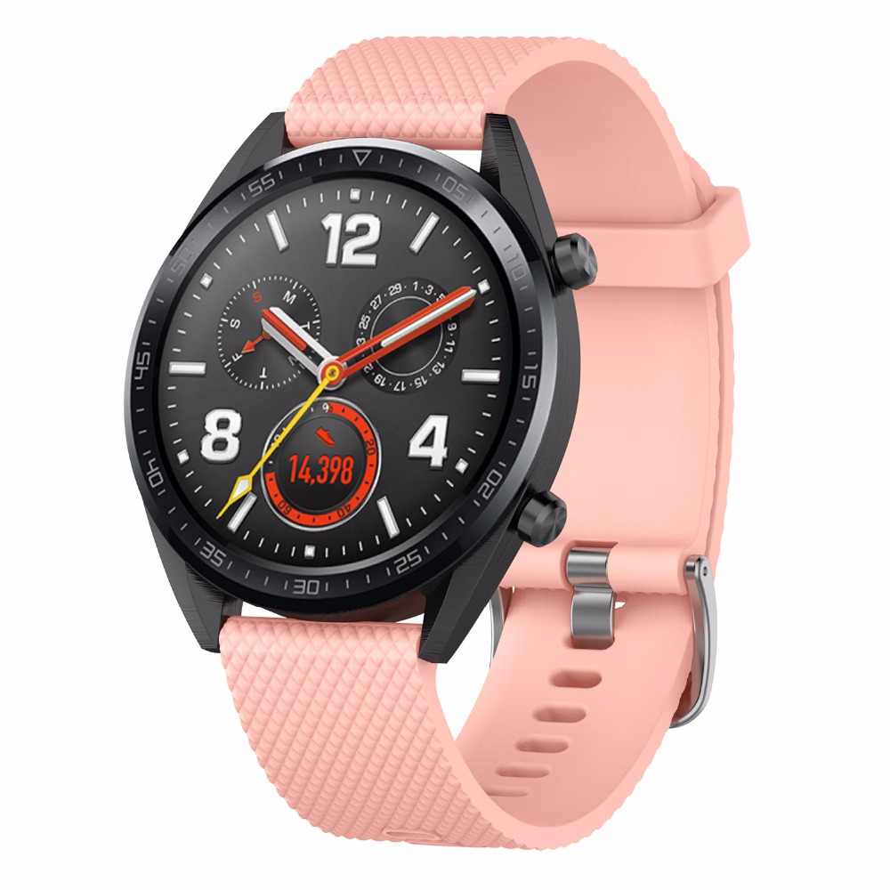 Image 2 - Silicone strap replacement watchband smartwatch strap for Huawei Magic / Watch GT / Ticwatch Pro-in Smart Accessories from Consumer Electronics