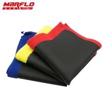 Marflo Car Paint Care Magic Clay Bar Microfiber Towel Car Paint Repair Car Body Shine before Wax and Costing