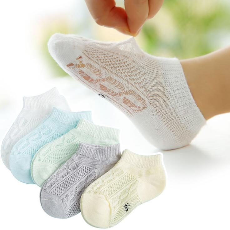 10 Pairs Boys Socks New Summer Pattern Cotton Breathable Children Kids Girls Socks