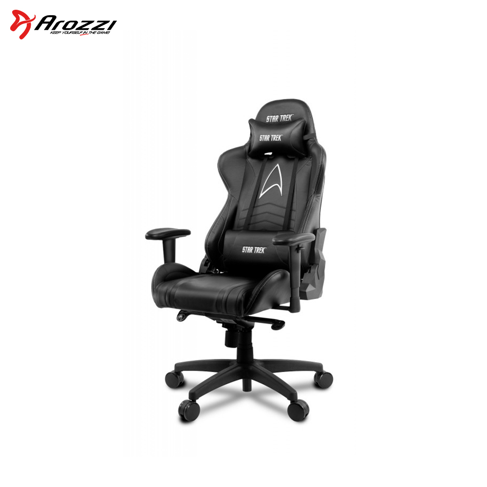 Computer gaming chair Arozzi VV2 STAR TRACK EDITION игровое кресло arozzi star trek arozzi vv2 st bk черный