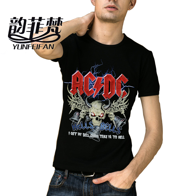 New Fashion Design Ac Dc Mens T Shirts Acdc Graphic
