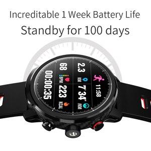 Image 4 - L5 smartwatch 블루투스 남자 스마트 시계 스포츠 ip68 방수 다중 스포츠 모드 긴 대기 호출 알림 시계 여성