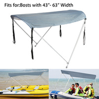 Inflatables Boat Sun Shelter Sailboat Awning Top Rowing Boats Cover Tent Sun Shade Rain Canopy Surfing Kayak Canoe Boat Top Kit