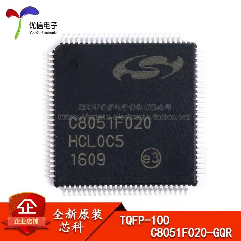 Free shipping  C8051F020-GQR  TQFP-100 C8051F020