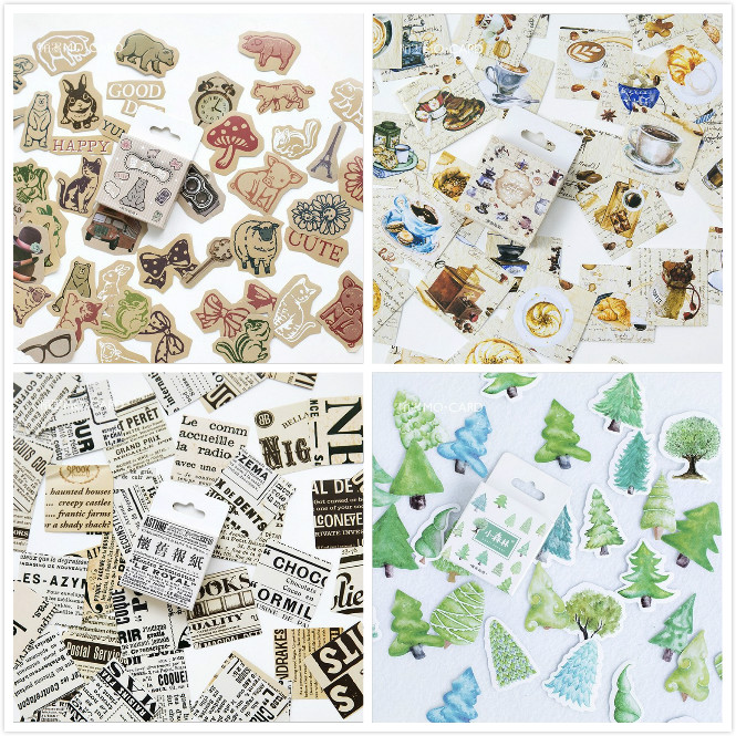 45 pcs DIY kawaii Stickers Animals Memo Pads Stationery stickers Planner Journal Note Diary Paper Scrapbooking Albums PhotoTag ultra thin cotton flock shoes pads stickers beige 10 pcs