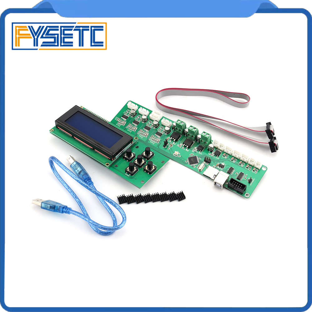 2004LCD + Melzi 2.0 1284 P 3D Imprimer PCB Conseil IC ATMEGA1284P Accessoires Pour Tronxy 3D Panneau de Commande De L'imprimante DIY kit Partie - 4