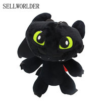 SELLWORLDER How to Train Your NightFury Dragões o Desdentado 30 cm Figura Brinquedos de Pelúcia(China)
