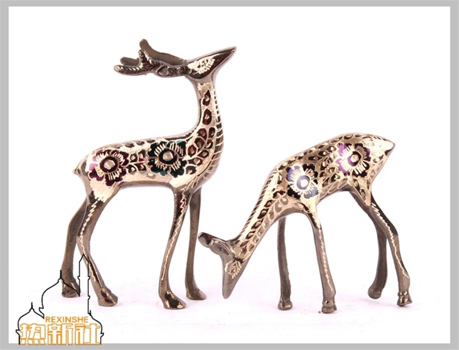ღ ღArtesanías de bronce decoración amantes regalo de boda para el ...