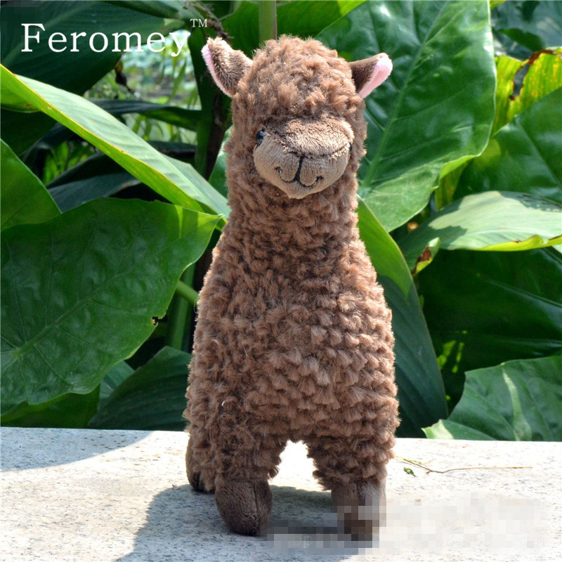 Kawaii Alpaca Plush Toys 23cm Arpakasso Llama Stuffed Animal Dolls Japanese Plush Toy Children Kids Birthday Christmas Gift hot 45cm good night alpaca toys japan amuse alpacasso arpakasso plush stuffed doll kids alpaca christmas gifts toy 5styles