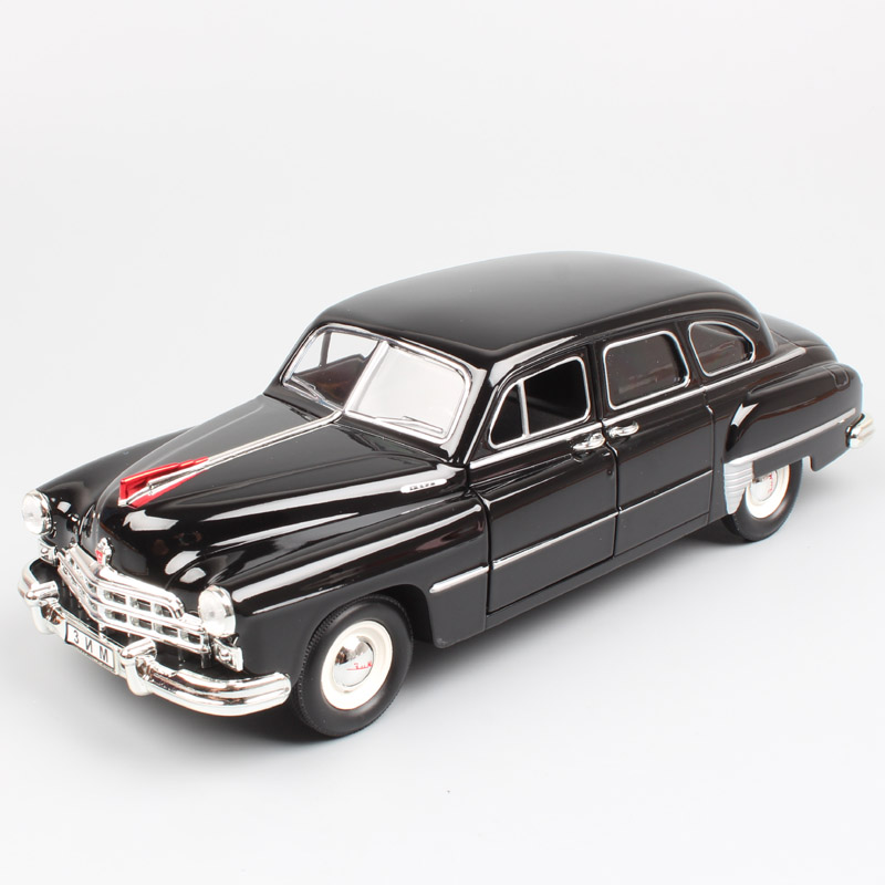 1/24 Scale Luxury Russia Soviet USSR Vintage Old Gorky GAZ-12 ZIM GAZ 12 Limousine Volga Diecast & Vehicles Model Cars Toys Kids