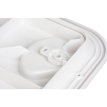 440*315mm ABS Plastic White Deck Marine Access Hatch Anti Aging Ultraviolet Boat Hatches Inspection Yacht RV Cover