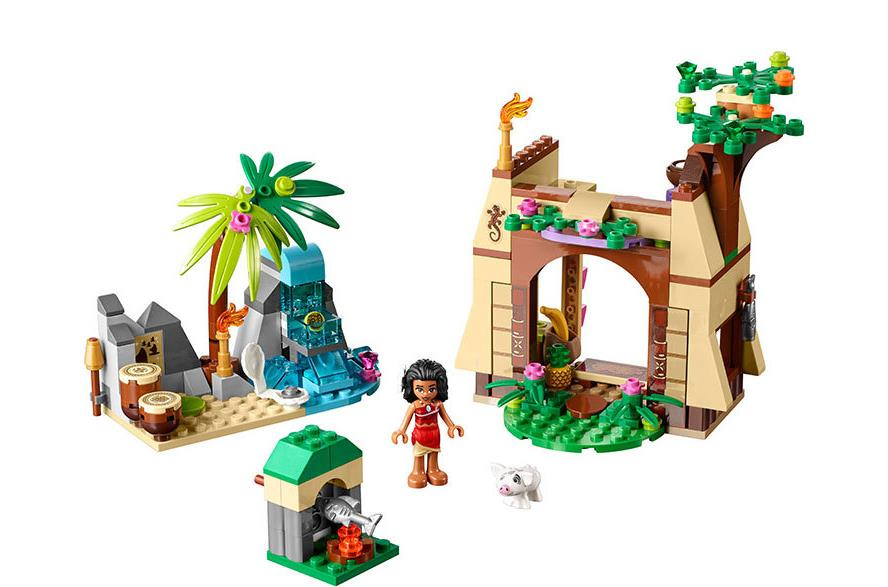 New Moana Princess Building Blocks Toys Dream For Girls Island Adventure Bricks Compatible with 41149 Le