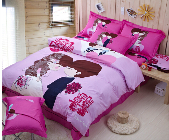 Charming Good Quailty Bedding Set 100 Cotton Chinese Wedding. Good Bed Sheets