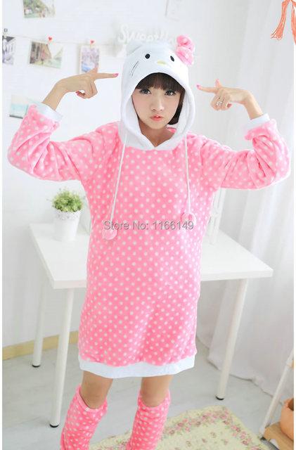 Capuche Bonjour Veste Animaux À Carton Costume Anime Cosplay Kitty wgaxvAZ6q
