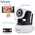 Sricam sp017hd wi-fi de segurança sem fio câmera ip wifi ir-cut night vision gravação de áudio vigilância alarme monitor do bebê no interior