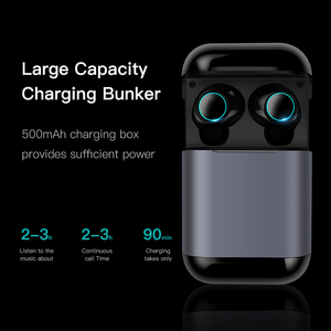 Image 2 - Esvne S7 TWS bluetooth earphone Earbuds Wireless Bluetooth headphone Stereo Headset Bluetooth Earphone With Mic and Charging Box