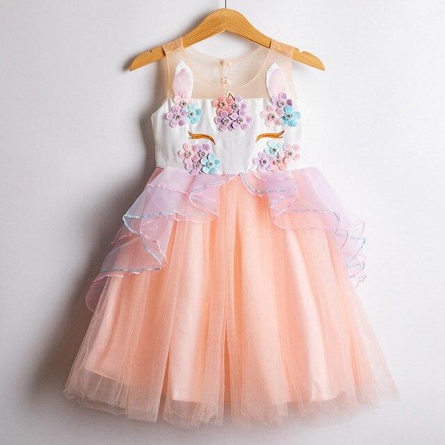 Unicorn Party Beading Dress...