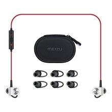 Orijinal meizu ep-51 bluetooth kulaklık hifi müzik spor kulak kulakiçi kırmızı siyah dahili mic ile stereo manyetik kulaklık