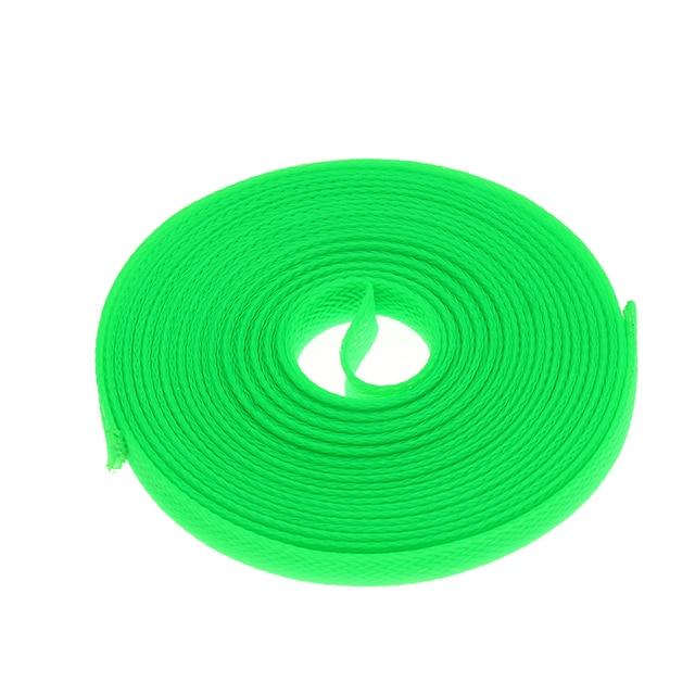 Durchmesser 8mm Grüne Kabel Ärmeln Verschlüsselung PET Snakeskin ...