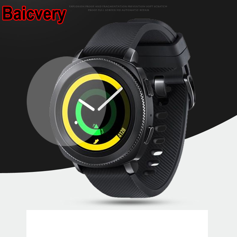Nano Explosion-proof Soft Protector for MOTO 360 46mm Watch 2nd Gen 42mm LCD Clear Film for Motorola 360 (NOT Glass)