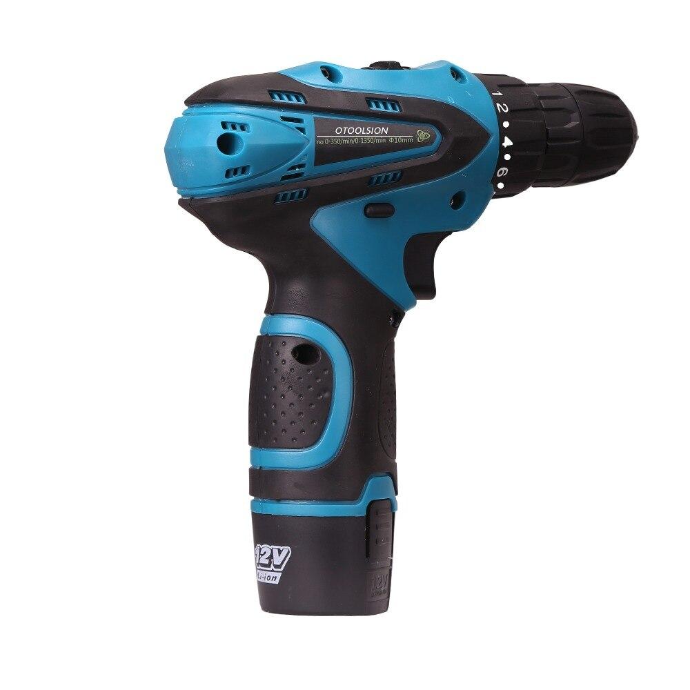 1.5MAH Electric Screwdriver 12V Electric Drill screwdriver Drill cordless Drill battery For Drill + Power Indicator Light (11)