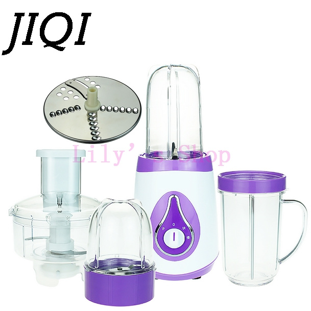 Multifunction Blenders Fruit Vegetable Juicer mixer cooking machine baby food supplement household electric meat grinder EU plug 220v multifunction electric juicer household meat grinder kitchen food processor tool only with 1 juicer cup