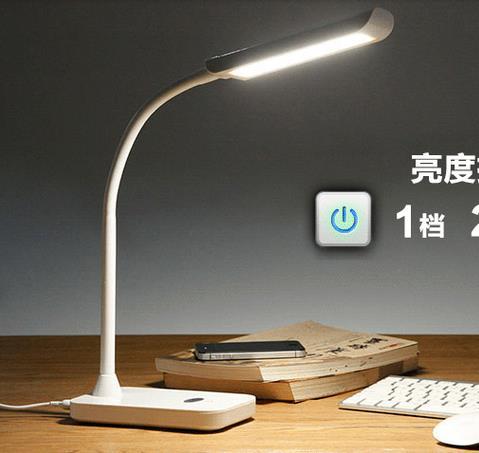 Econmica 7 W tres pasos dimmable lectura lmpara LED lmpara de escritorio  lmpara de mesa para el dormitorio aula sala de lectura