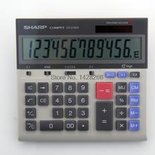 Free shipping authentic SHARP Sharp CS-2130H wide display, shaking his head office finance calculator dedicated