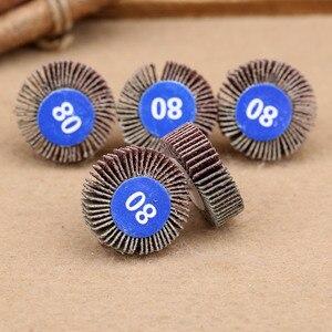 Image 4 - Dremel Accesorios de papel de lija, ruedas de pulido, juego de discos de lijado, rueda de pulido de obturador para herramientas de potencia rotativa, 5 uds.