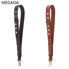 MEDADA  Fashion Leather Shoulder Bag Womens Bags Wide Strap For Handbags Crossbody Accessories MD052