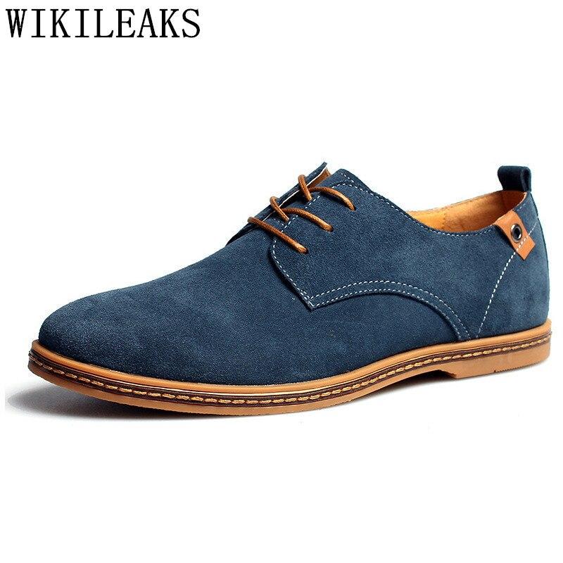 € 21.23 50% de réduction Herenschoenen chaussures élégantes hommes oxfords chaussures habillées hommes chaussures de mariage formelles vache daim