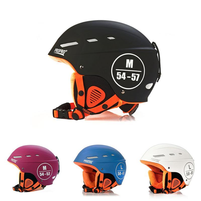 Nouveau Casque De Ski Adulte Ultra-Léger Double Placages Casque Ski Sport De Protection Outil Équipement Casque De Ski Pour Hommes et Femmes
