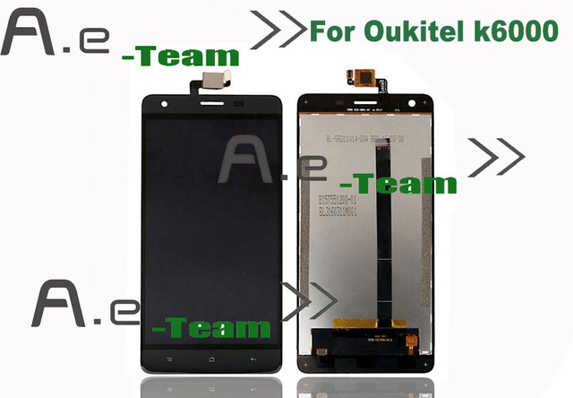 High Quality For Oukitel K6000 Screen Replace LCD Display Digitizer Assembly Replacement Screen For Oukitel k6000 Smartphone