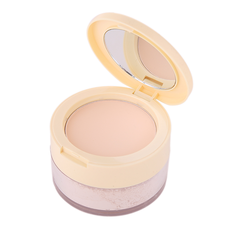 Compact Translucent Face Contour Palette Finishing Loose Powder Setting Makeup Bare Mineralize Skinfinish Soft Gentle Beauty