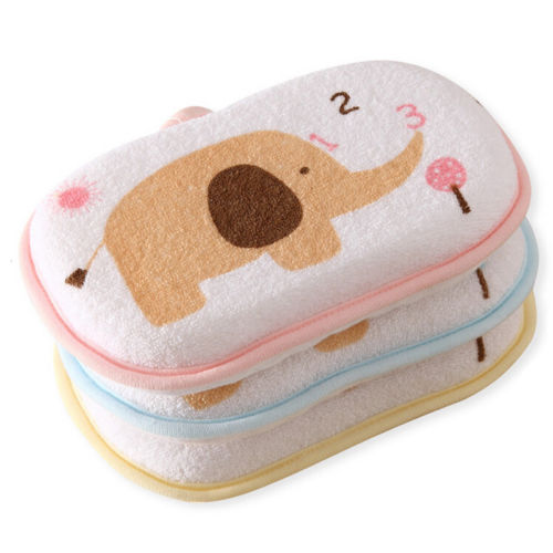 Frank New Baby Sponges Bath Brushes Cartoon Animal Print Infant Cotton Shower Bath Brushes Sponge Wholesale To Produce An Effect Toward Clear Vision Furniture